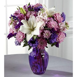 The FTD Shades of Purple Bouquet