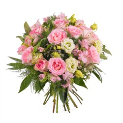 Bouquet in pink shades (Vase Not Included)