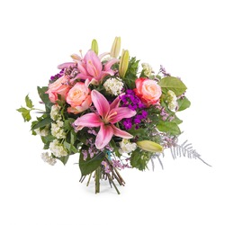Spring multicoloured Bouquet (Vase Not Included)