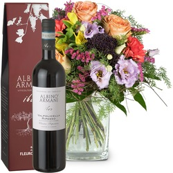 Symphony of Colors with Ripasso Albino Armani DOC (75cl) (Vase not included)