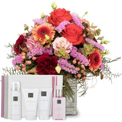 """Colorful Wishes with gift set """"The Ritual of Sakura"""""""