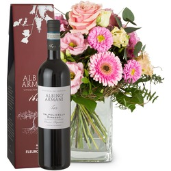 Little Princess with Ripasso Albino Armani DOC (75cl) (Vase not included)