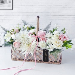 Blooms From My Heart Basket Tribute