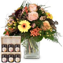 Indian Summer with honey gift set