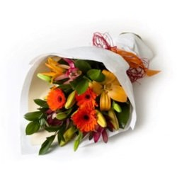 Hand-Tied Mixed Bouquet (Vase Not Included)
