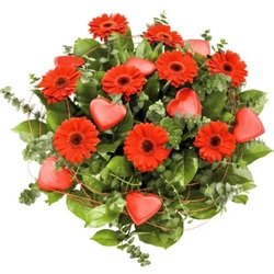 Hearts bouquet (Vase Not Included)