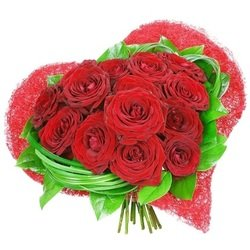 Passionate moments bouquet (Vase Not Included)