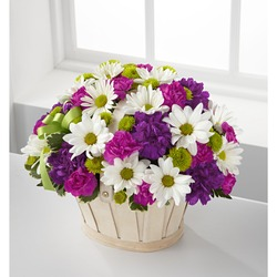 Blooming Bounty Bouquet Basket